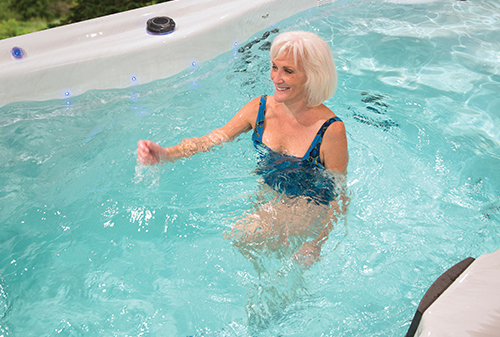 Exercising in your swim spa is convenient as well as a great workout
